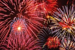 Tűzijáték Ünneplésre